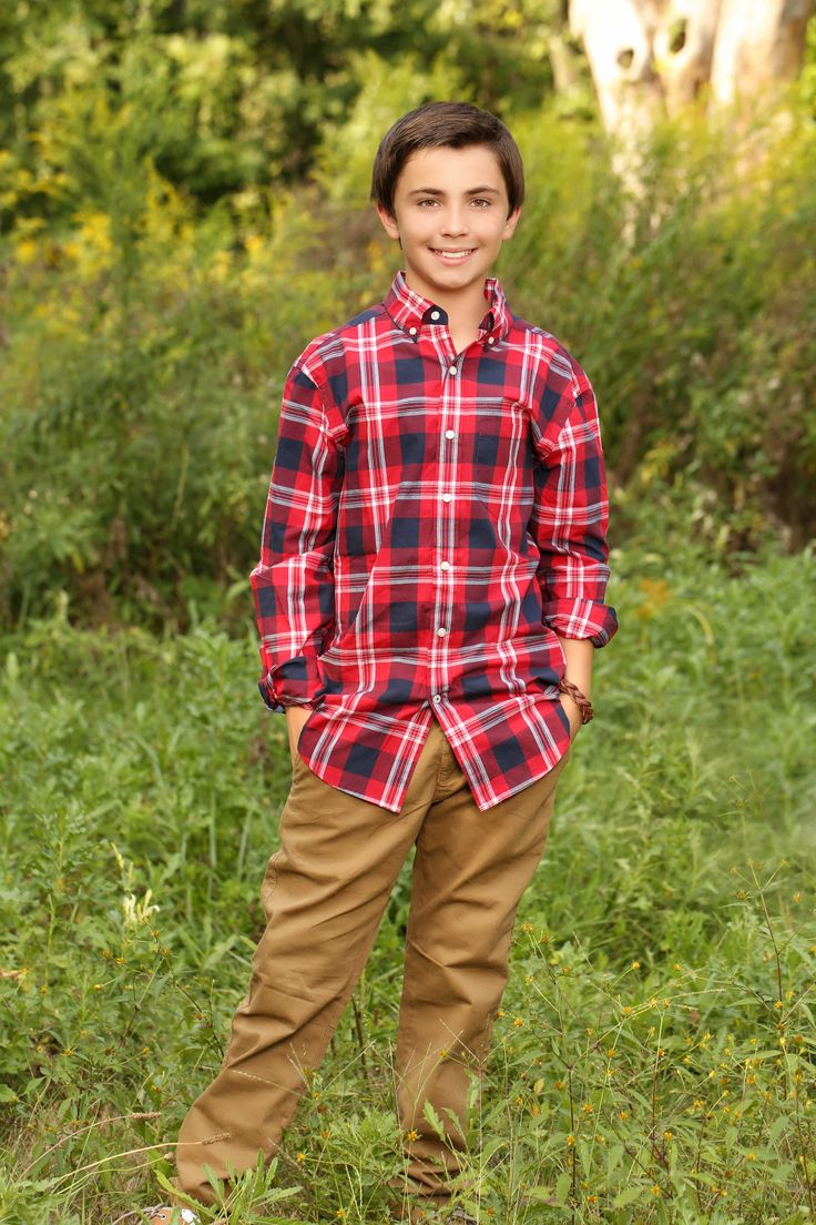 Outfit from American Eagle Outfitters for my 12 year old (That hard in between stage for boys)! (Actual photo of my son:)