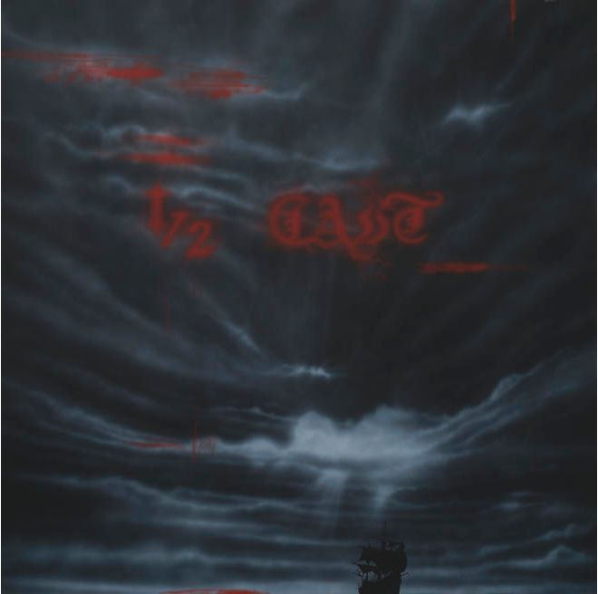 Shane Cotton, 1/2 Cast, 2010,  Acrylic on canvas  180 x 180 cm
