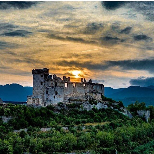 Castle of the XII century in finale ligure, Liguria Italy ~ Photograph By…