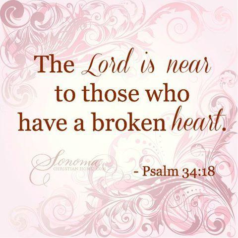 ❥ Psalm 34:18
