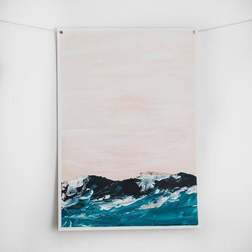 Seascape-art-abstract-original-summer-dream-rose-hewartson.jpg $65 www.rosehewartson.com.au
