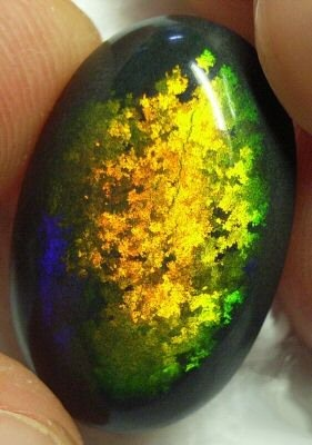 Opal matrix