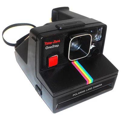 Cámara instantánea Polaroid SX 70 Time-Zero