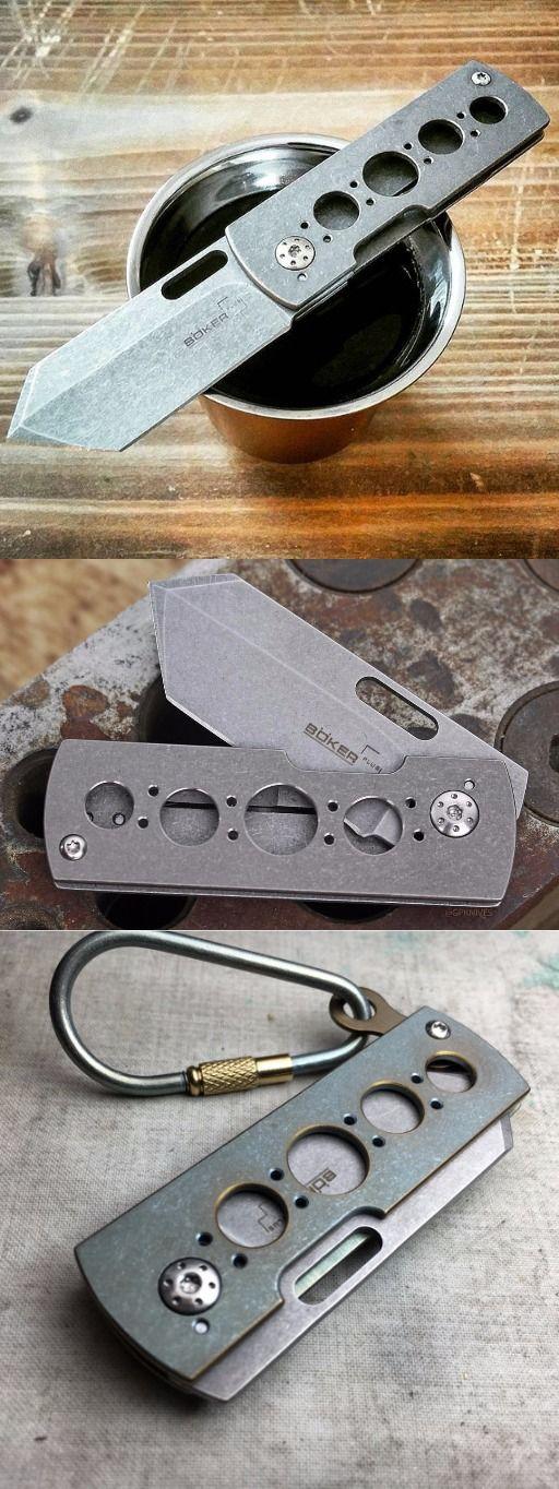 Boker Plus Pelican EDC Pocket Folding Knife Blade - Everyday Carry