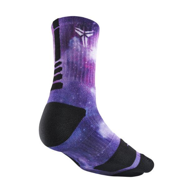 The Kobe Moonwalk Elite Crew Basketball Socks.