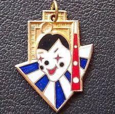 Аргентина 1953 старинный Карнавал медаль клоун