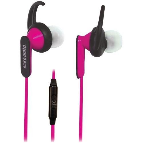 Ecko Nytro Sport Earbuds With Microphone (pink) (pack of 1 Ea)