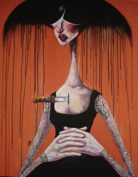 by Iranian artist Afarin Sajedi