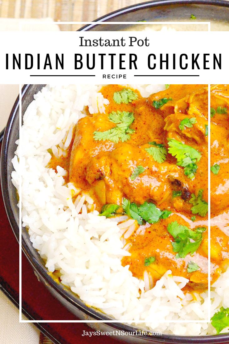 Pressure Cooker Indian Butter Chicken Recipe In 2019 Pressure Cooker Instant Pot Indian