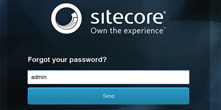 How do I reset Sitecore admin password? | Emer Kurbegovic