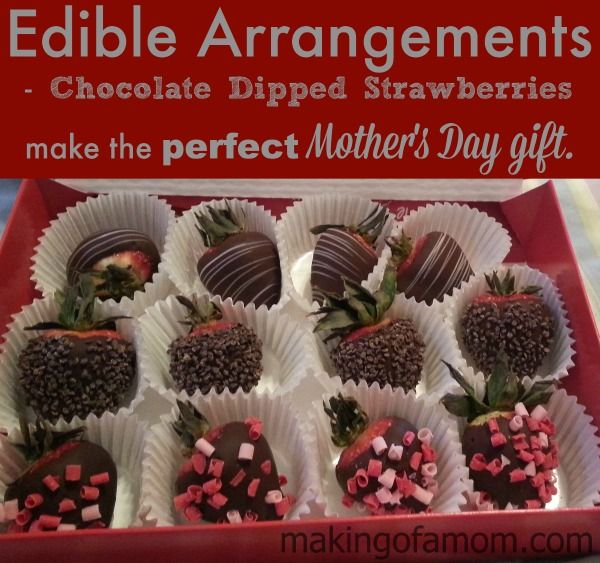 Surprise Mom with a Lovely Gift from Edible Arrangements