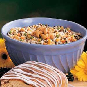Cashew Rice Pilaf | Recipe