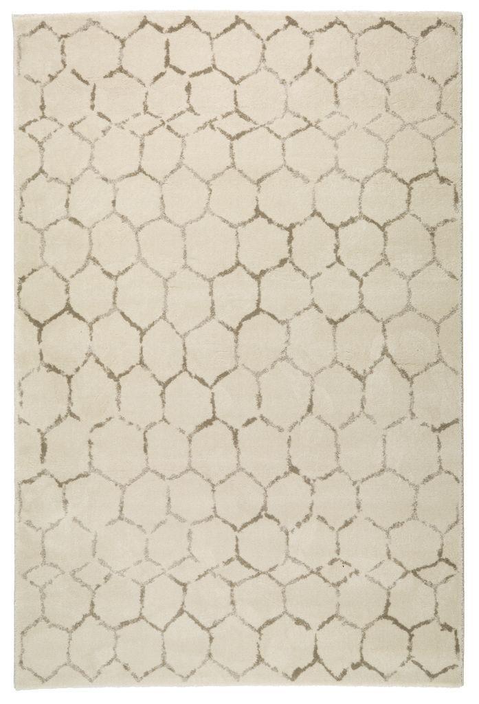 Matta VILLMORELL 160x230 tuftad offwhite | JYSK