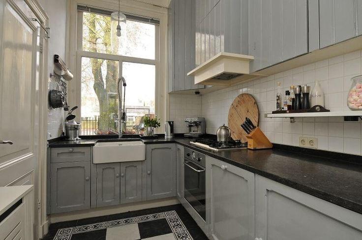 Vloertegels Keuken Zwart Wit : Wit Grijze Keukens op Pinterest – Grijs Keukens, Grijze Keukens en
