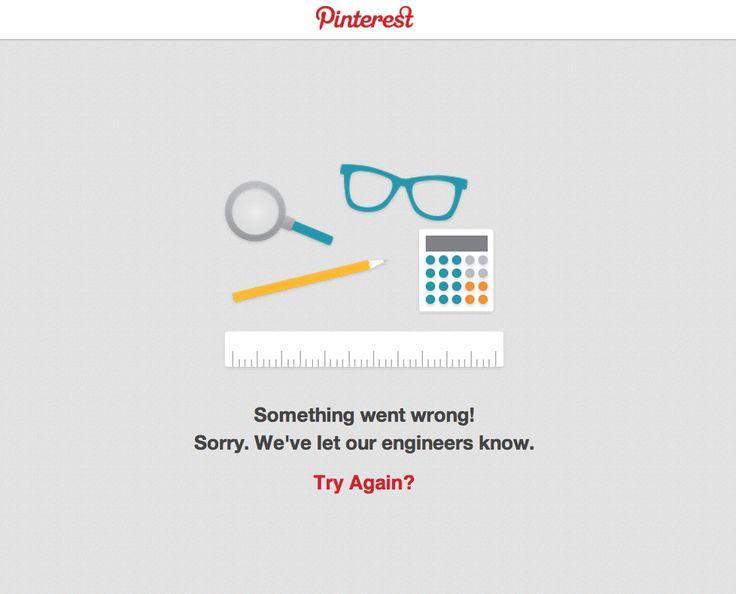 #Pinterest #Sorry #TryAgain