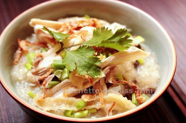 Porridge de riz au poulet Cháo Gà (Tsôk)