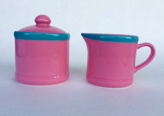 Coffee gift Sugar and creamer set Sugar bowl gifts by sageNsilver