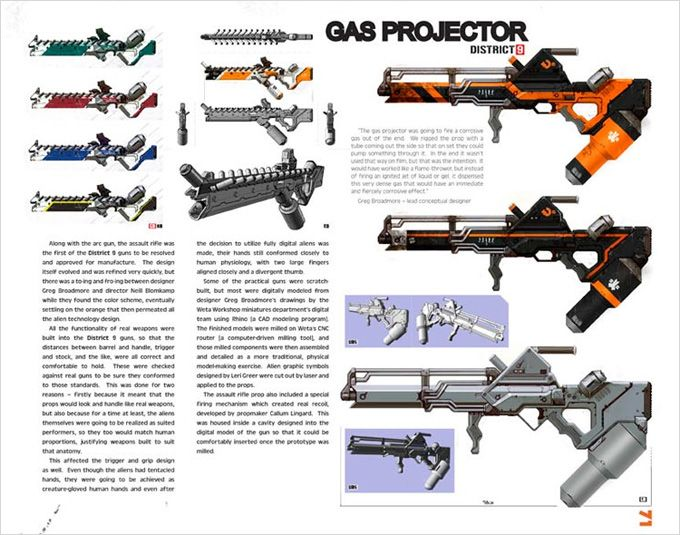 District 9 weapon concepts | Weaponry | Pinterest | The o ...