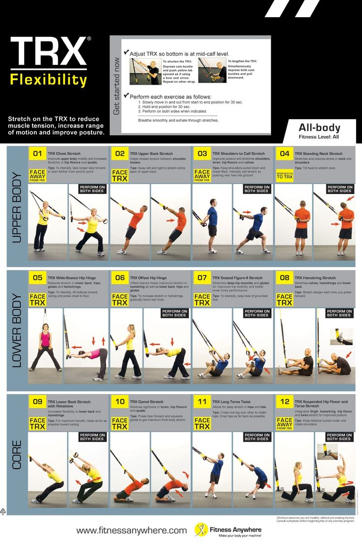 Pin By Sue Miller On Trx Trx Workouts Flexibility Workout Trx Training