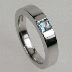 Aquamarine engagement rings? :  wedding aquamarine engagement rings lesbian Stephen Einhorn Ring