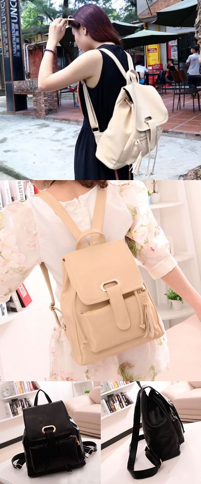 2017 New Fresh Cream Leather Stereoscopic Backpack School Bag with Tassel for Girls backpack laptop women fashion,backpack luggage,backpack luggage strap,backpack luggage travel,backpack college,backpack college laptops,backpack college girl,backpack college girl style,backpack college laptops,backpack black,backpack black small,backpack black white,backpack black school,backpack men travel,backpack men,backpack men travel