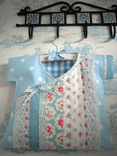 HANDMADE CATH KIDSTON LAURA ASHLEY fabric PEG BAG ROSES BIAS BINDING LACE | eBay