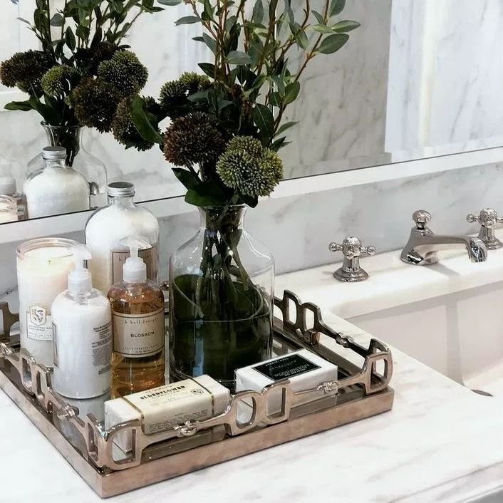 Newest Free Of Charge Bathroom Vanity Decor Thoughts Selecting The Best Bathroom Vanity To Your Room C Bathroom Counter Decor Bathroom Spa Bathroom Vanity Tray