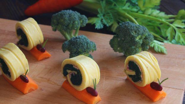 Le lumache di frittate agli spinaci sono un modo creativo di far mangiare le verdure ai bambini! Ecco la ricetta!