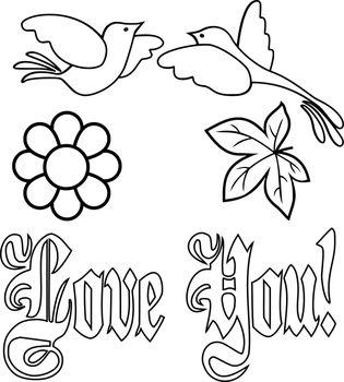 Lineart-elementos-decorativos--corazon-68.1 by Creaciones-Jean