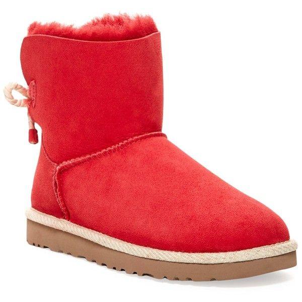 4f598b97c53 UGG Australia Selene Genuine Shearling Fur Boot ($100) ❤ liked on ...