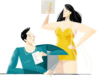 "Check out new work on my @Behance portfolio: ""How often should you have sex"" http://be.net/gallery/34183079/How-often-should-you-have-sex"