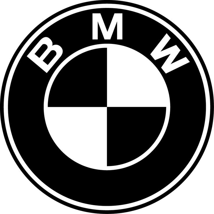 BMW Logo... Black On White.