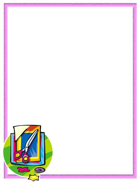 Marcos decorativos para fotos escolares - Imagui                              …