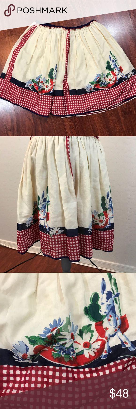"Anthropologie Anna Sui Flare Printed Skirt Sz 8 Beautiful printed A-Line skirt Sz 8 Waist measures 31"" Length 20"" Anna Sui Skirts Mini"