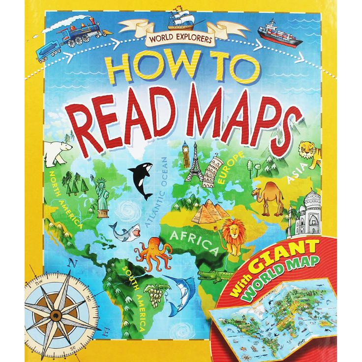 How To Read Maps  | Children