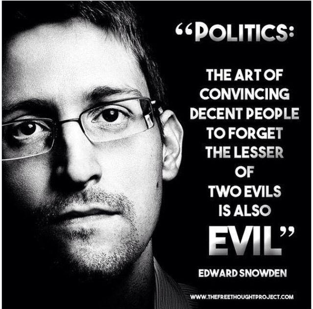Edward Snowden knowledge