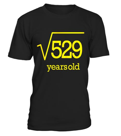 "# Twenty Three Years Old T Shirt 23rd Party 23 Square Root 529 .  Special Offer, not available in shops      Comes in a variety of styles and colours      Buy yours now before it is too late!      Secured payment via Visa / Mastercard / Amex / PayPal      How to place an order            Choose the model from the drop-down menu      Click on ""Buy it now""      Choose the size and the quantity      Add your delivery address and bank details      And that's it!      Tags: Young Age Happy…"