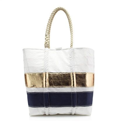 Just when I promised myself I wouldn't buy anymore summer items for another month....I see this! #musthave Sea Bags® for J.Crew medium tote.