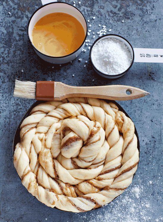Schwedisches Rezept für Zimtschneckenkuchen... Sooo lecker!