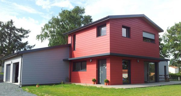 Les 22 meilleures images du tableau constructeur de maison for Constructeur maison bois kit vendee