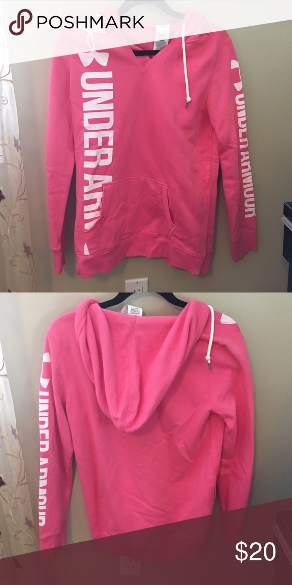 Under Armour hoodie Women's size small, pink Under Armour hoodie Under Armour Jackets & Coats