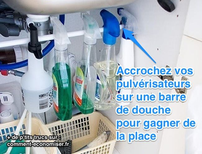 Trop de vêtements, mais définitivement pas assez de place ? Le placard de la cuisine est si petit qu'on dirait qu'il va exploser ? Un petit placard ce n'est jamais pratique, mais quan...