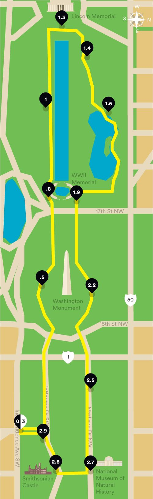 Where to Run: The National Mall & Monuments   Runner's World