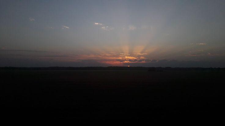 Beautiful sunset 💛💛