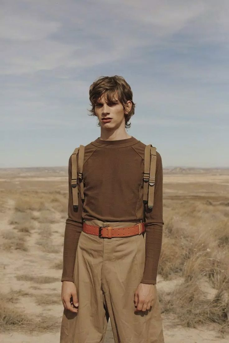 Erik van Gils captured by the lens of Fanny Latour-Lambert and styled by Simon Pylyser, for the Winter 2015 issue of L'Officiel Hommes Middle East.