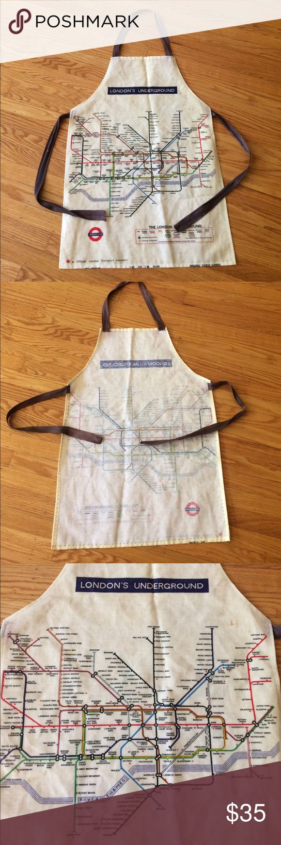White apron london -  Vintage Fun London Transport Souvenir Apron An Awesome Conversation Piece Check