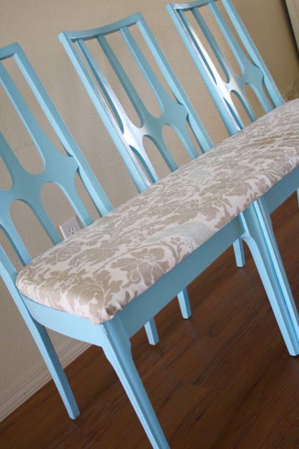 1000 idee n over oude stoelen op pinterest zitbankje rustieke stoel en upcyclebare meubelen - Stoel nieuwe kunst ...