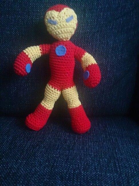 Crochet ironman, freestylde