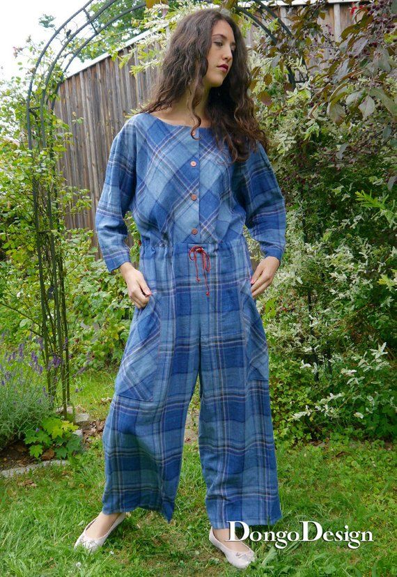 PDF Sewing Pattern Jumpsuit Sylt PDF File with Ebook sewing ...