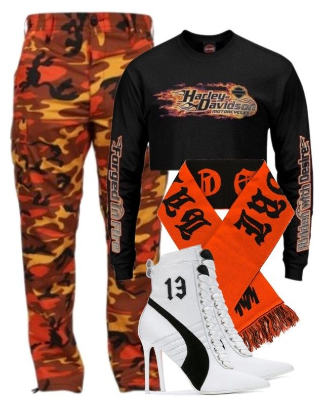 """""""Untitled #1740"""" by palemermaid ❤ liked on Polyvore featuring Misbehave and Puma"""